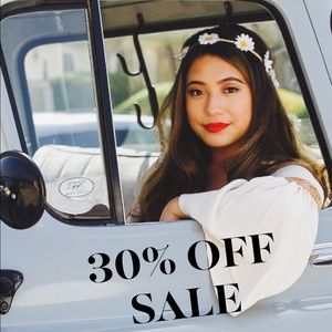 End of Summer SALE Starts today! 30% OFF